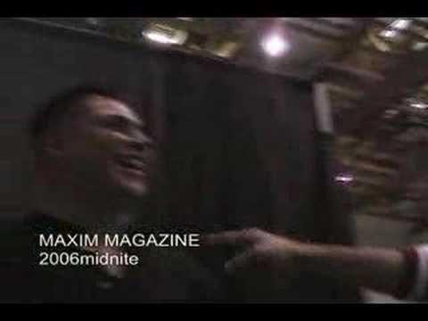 spotliteWmidnite: Maxim Magazine Party
