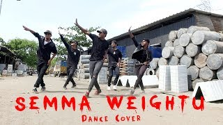 Kaala   Dance Cover   Semma Weightu - Santhosh Narayanan   Dopeadelicz
