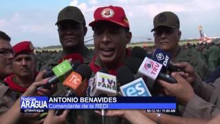 Autoridades del REDI efectuaron salutación y visita operativa en Aragua 08-12-14