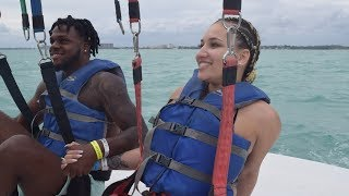 OMG WE WENT PARASAILING FOR THE FIRST TIME