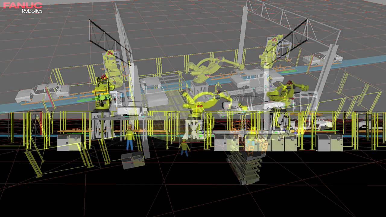 M-2000iA/M-20iA Automotive Body Transfer Robots - FANUC Robotics Industrial  Automation