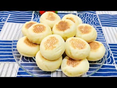 山药小饼的做法,像面包一样软软的,特别好吃