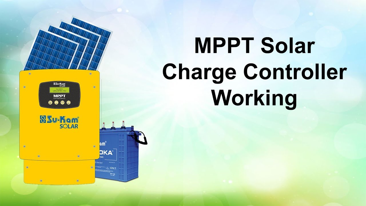How Mppt Charge Controller Works Solar Pwm Manufacturersupplier China Working Youtube