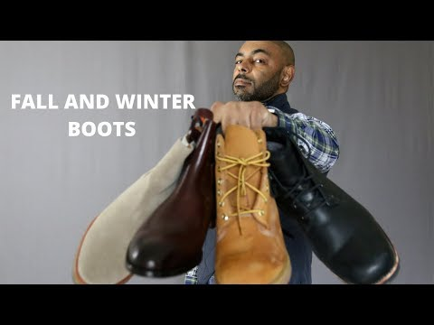 7 Boots Men Need For Fall And Winter