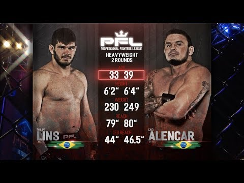 PFL Full Fight Friday: Philipe Lins vs. Caio Alencar from PFL Playoffs: New Orleans