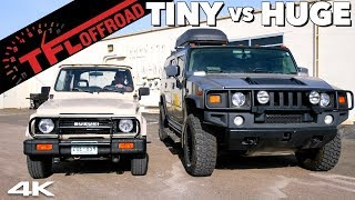 What's the Best Off-Roader: Suzuki Samurai vs Hummer H2? No You're Wrong Ep.1
