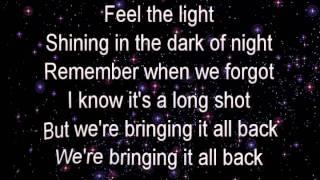 Feel the Light By Jennifer Lopez Lyrics
