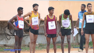 MEN'S  5000m RUN FINAL. 77th ALL INDIA INTER UNIVERSITY ATHLETICS CHAMPIONSHIPS-2016-17