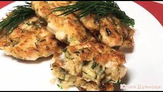Куриные рубленые котлеты с сыром / chicken cutlets with cheese