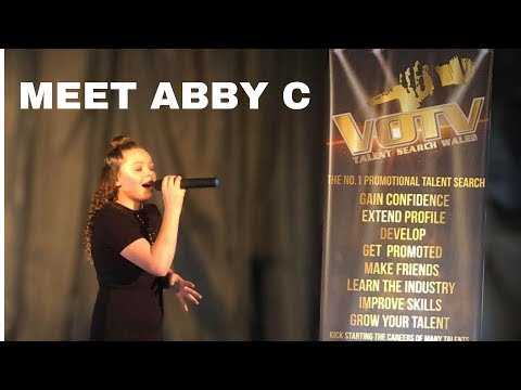 """"""" Abby C """" performs Nobody Like You @VOTV Talent Search Wales (Attendance Day)"""