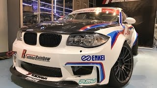BMW 1 series Formula Drift Machine by TRC 德日合體的 1,000 匹戰車搶先睇