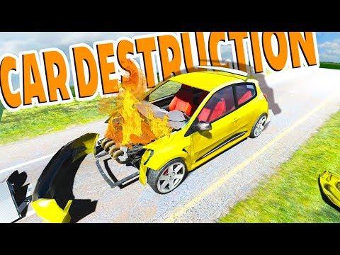 Download Youtube: CRASH TESTING CARS! BEAMNG + CAR MECHANIC SIMULATOR? - Disassembly 3D Gameplay