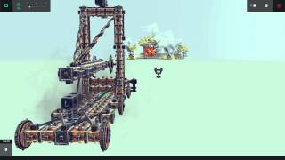 Besiege Simple Long Range Catapult