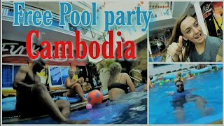 বাংলা Vlogs || Pool party in Cambodia || Funky flash Pool party || Part #05