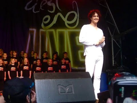 Lee Mead - West End Live 2008 - Close Every Door (part)