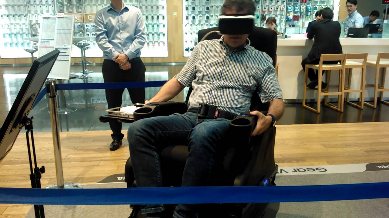 Samsung Gear Vr Virtual Reality Brille Test 2 Youtube