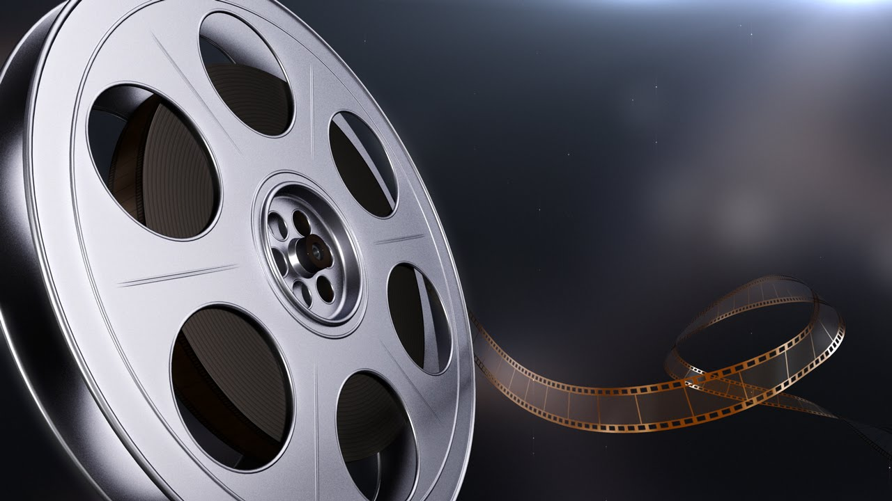 Motion Picture Film Reel - 2 Styles - YouTube