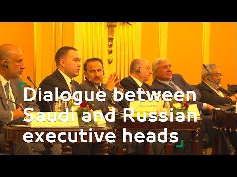 Dialogue between Saudi and Russian executive heads