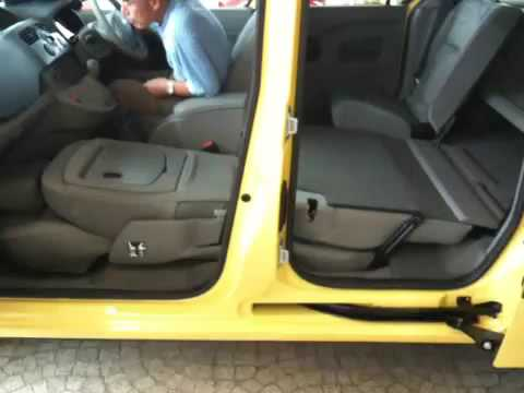 New Renault Kangoo Seat Arrange Youtube