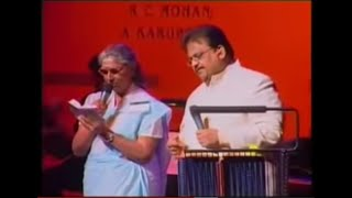 Malare Mounama Live by Smt. S Janaki and S P B