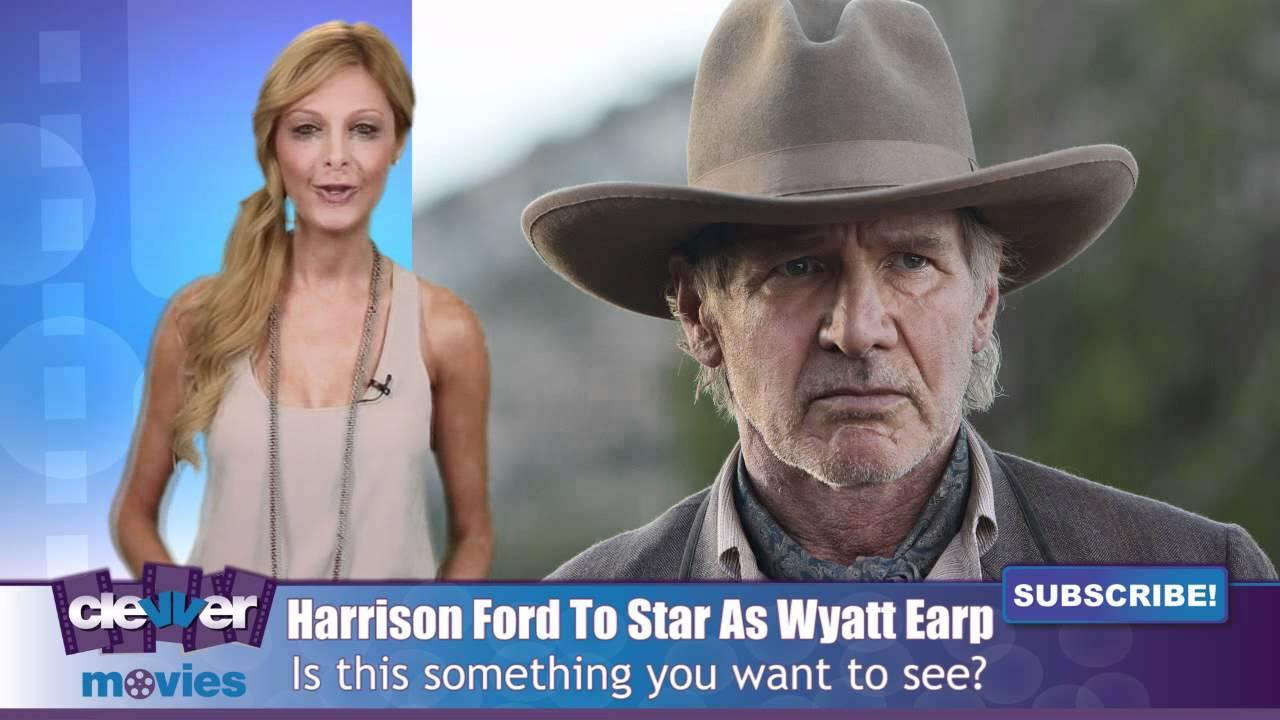 b942d19bd16 Harrison Ford To Play Wyatt Earp In  Black Hats  - YouTube