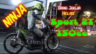 Indonesia Drag Championship AHRS Jogja Kawasaki Ninja TU 200cc | Drag Bike [FULL HD]