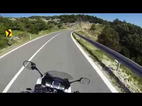 Croatian Coast and island Pag by Motorcycle