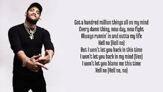 Joyner Lucas - Finally ft. Chris Brown lyrics