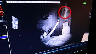 I recorded myself sleeping at my haunted house & caught this on camera.. (REAL GHOST ACTIVITY) thumbnail