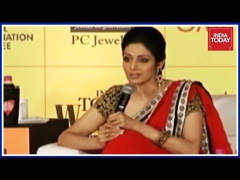 From Child Artist To Lady Superstar : Sridevi's Rare & Exclusive Interview To India Today