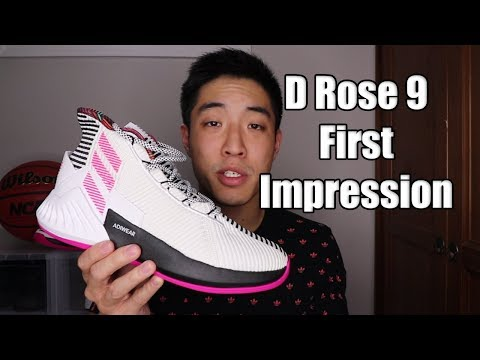 Adidas D Rose 9 Review / First Impression