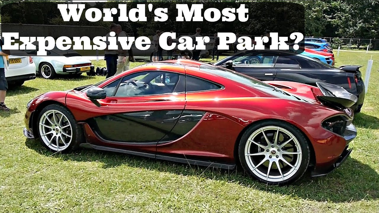 world 39 s most expensive car park 2016 goodwood fos youtube. Black Bedroom Furniture Sets. Home Design Ideas
