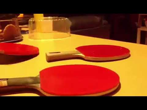 Clean a Ping Pong Paddles Rubber with Alcohol