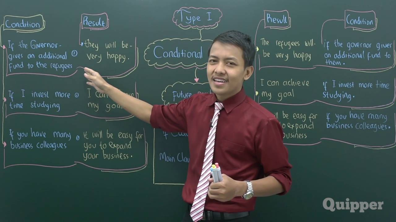 Quipper Video Bahasa Inggris Conditional Sentence Youtube