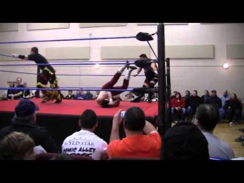 GCW-Twiggy vs.Shane Matthews(2/3.0)vs.Kevin Steen