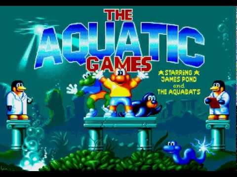 Mega Drive Longplay [509] The Aquatic Games starring James Pond and the Aquabats