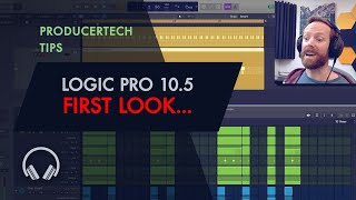 Logic Pro X 10.5 First Look (2/4)