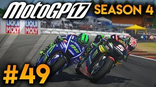 MotoGP 2017 Career Mode Part 49: ARAGON! (MotoGP 17 Gameplay PS4 Game)