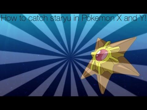 How to catch staryu in Pokémon X and Y!