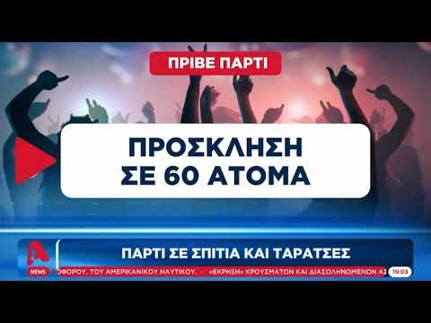 Newpost.gr Κορωνο-πάρτι σε σπίτια και ταράτσες