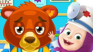 Маша и Медведь и Доктор Для Животных Кто Лучше Лечит Мишку