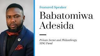 Millennium Fellowship Webinar Series - Babatomiwa Adesida #MillenniumWebinars