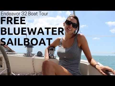 24] How To Get A FREE Bluewater Sailboat | Abandon Comfort - Sailing & Boat Tour