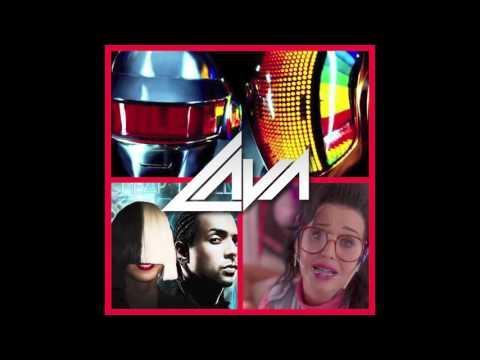 Katy Perry vs Sia/Sean Paul vs Daft Punk - Cheap Friday Stronger Thrills (Lava Elle Bootleg Mashup)
