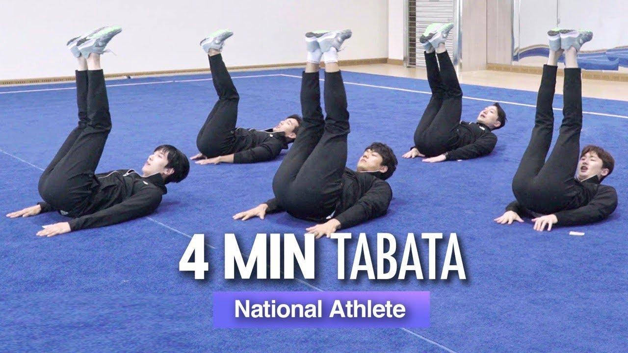 You Must Do This Sixpack Workout (ft. 4min Tabata) | 올해 복근운동은 이걸로 끝내세요, 4분 식스팩 타바타 (유도 국가대표 곽동한 선수)