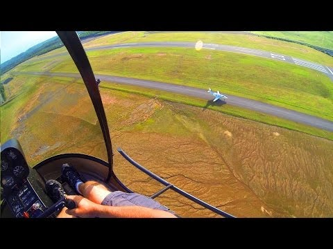GoPro: R22 Helicopter Add-On Flight #25, POV Finish Solo Time Req. + ...