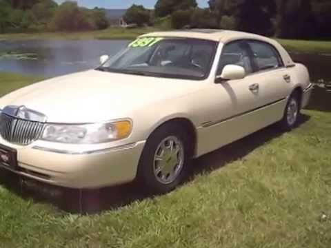 1998 Lincoln Town Car Cartier Edition Roman Chariot With 85 545