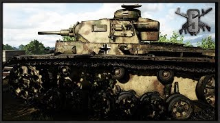 FINAL BRIDGE PUSH - PANZER III TANK CREW - Post Scriptum Gameplay
