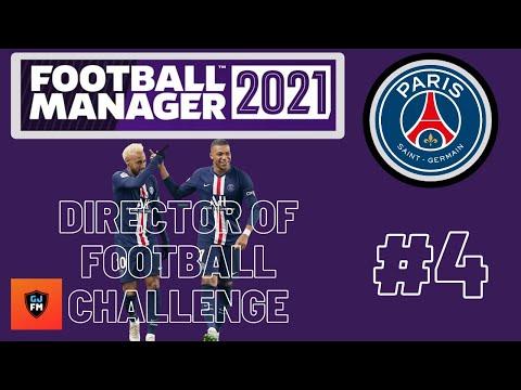FM21 | PARIS ST GERMAIN | DOF CHALLENGE | EPISODE FOUR | LYON ET MARSEILLE | FOOTBALL MANAGER 2021