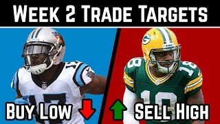 2018 Fantasy Football Advice - Week 2 Trade Targets